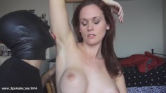MISTRESS SCARLETT NUDE FEET TRAMPLE WORSHIP TRAMPLE AND ARMPIT LICKING